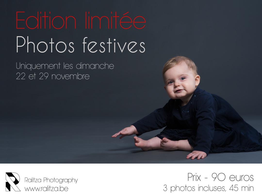 Edition limitée – photos festives