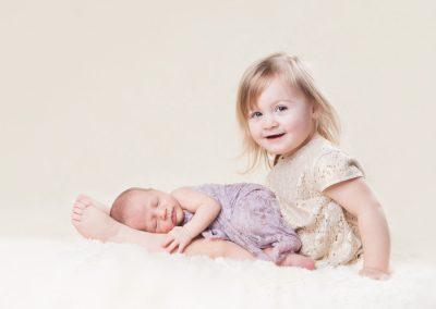 newborn baby sibling