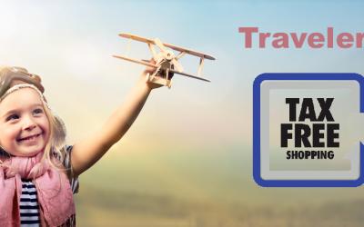 Retour de taxes pour les voyageurs internationaux