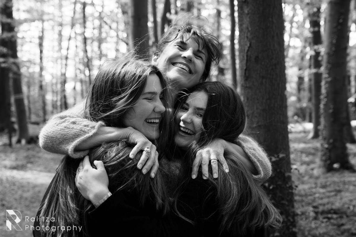 Teens with mother